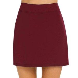 Skirts Ly Anti-Chafing Active Skort Performance Skorts Skirt Women Sports Pencil DOD886