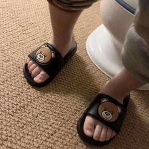 Летний мальчик девочек тапочки детские ботинки роскоши дизайнерские ползунки шлепанки в помещении в помещении детская тапочка 2 - 8 лет