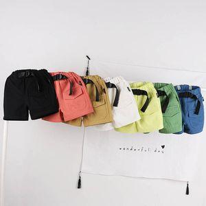 Children Shorts Summer Girls Clothes Clothing Boys Casual Children's Pants Cotton Belts B5845