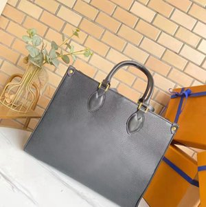 Wholesale High-end Tote Shopping Bag for Women Leather Shoulder Bags Lady Woman Handbags Presbyopic Purse Messenge Handbag