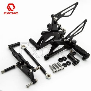 Pedals For DAYTONA Street Triple 675 2006 2007 2008 2009 2010-2012 Motorcycle Quick Shifter Rearset Rear Set Footpeg Footrests