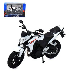 WELLY 118 HONDA CB500F Motorrad-Bike-Modell-Spielzeug neu in der Box
