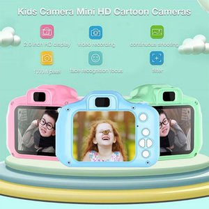 Mini Digital Camera Kids Toys Cartoon 2 Inch HD Screen Cameras Video Recorder Camcorder Children's Birthday Christmas Gifts