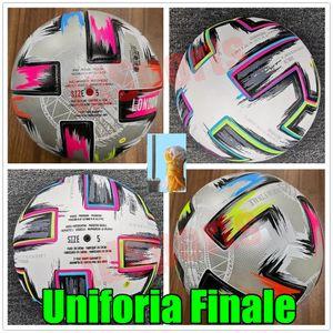 Top quality 20 Euro Cup size: 4 Soccer ball 2021 Uniforia Finale Final KYIV PU size 5 balls granules slip-resistant football high stock