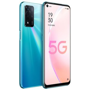 Original Oppo A93S 5G Mobile Phone 8GB RAM 128GB 256GB ROM MTK Dimensity 700 Octa Core Android 6.5 inch LCD Full Screen 48MP Face ID Fingerprint 5000mAh Smart Cellphone