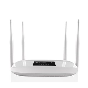 Excellent value for money and unlocked 300Mbps 3G 4G Wifi LTE CPE router with 4 LAN ports