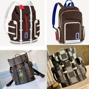 5 цветов мужской рюкзак Кристофер школьная сумка баскетбол рюкзак путешествия спортивные рюкзаки дизайнеры большие сумки новые
