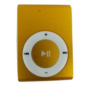 & MP4 Players Portable Metal Screenless Card Mp3 Iron Clip Player Student Sports Creative Gift