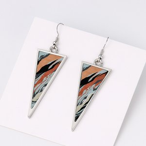sublimation blank earrings triangle earring for heat transfer printing blanks products