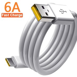 Fast Quick Charger cables 1m 3ft 1.5m 2m 6A Type C Cable Cord line For Samsung s8 s10 s20 s21 htc android phone pc