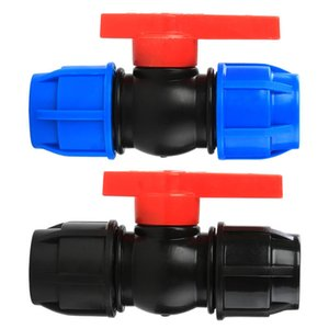 Watering system PE PP drip irrigation valve compression fitttings quick connect way ball valve,Tee,Equal coupling,Elbow For Water Filter
