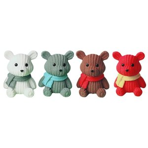 Home decoration accessoriesStuffed Plush Animals party Cute plastic bear miniature fairy Easter animal Dolls pillow Holiday Party Prom Christmas Valentine's Day
