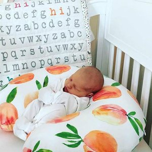 Europe Infant Baby Florals Nursing Pillow Cover Breastfeeding Pillow Cover U Shape Nursing Pillow Cover Slipcover A714