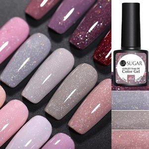 UR SUGAR 7.5ml UV Gel Nail Polish Sequins Varnish Colors Soak Off UV Gel Varnish Color Nail Polish DIY Nail Art Lacquers