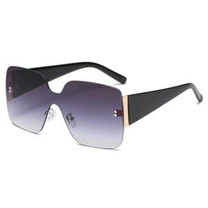 Модные солнцезащитные очки для женщин Роскошный дизайнер Ретро Солнцезащитные очки Открытый Большая Рамка Вождение Очки Oculos De Sol 2022