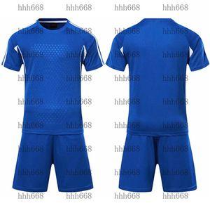 2021 010127 Football Tracksuit Short Sleeve Match Training Suit Children's Team Jersey Number Logo Customization 23