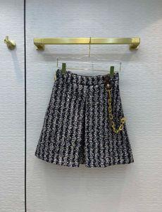 2021 Spring Autumn Winter Luxury Designer Skirts Fashion A Skirts Women's Brand Same Style Shorts 0812-19