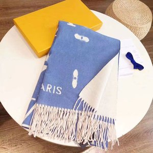 Luxury shawl scarf fashion versatile autumn and winter double-sided long thickened scarf 2021 new long warm shawl