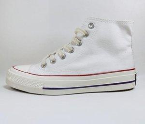 2,0 Мужская Женская Мода 70 Весна и Летние Холст Обувь Высококачественные Спортивные Обувь Высокосовесы Низкий Размер EUR35-45 EUR35-45