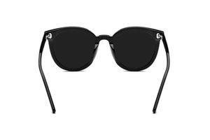 2021 neweat fashion high quality GM black shad Acetate womens mens cat ey sun glass sunglass