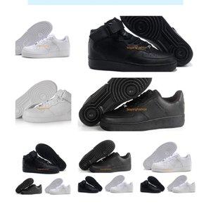 Скидка со скидками мужчины женщины роскохозяйственные ботинки спортивные скейтбординг высоко низкие белые белые черные тренеры