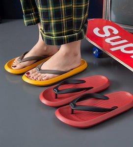Women Men Flip Flops Summer Casual Slippers Beach Slide Sandals Non-slip Soft Sole Comfortable Boys Ladies Couples Bathe Shoes