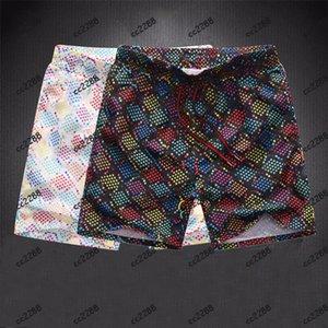 Erkek Şort Yaz Tasarımcılar Rahat Spor Moda Hızlı Kuruyan Erkek Plaj Pantolon Siyah Ve Beyaz Asya Boyutu M-3XL