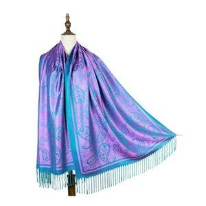 brand scarves womens senior long Single layer chiffon silk shawls Fashion tourism soft Designer