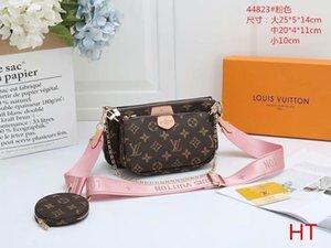Louis vutton women luxurys designers crossbody bags wallet backpack handbags purses card holder bag shoulder tote mini 3-piece set