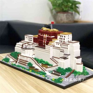 Puzzle star small particle assembled toys high difficulty 9922 building blocks Potala Palace in Tibet are free of mail