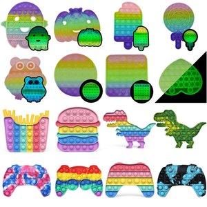 AntiStress игрушки пузырькая игра push vidget party сенсорная игрушка смешные взрослые дети рециркулируют стресс силиконовые аутизм специальные потребности