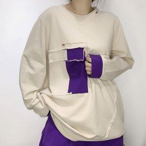 Katoen Lulu Casual Korean Losse Womens Fashion New Designer Streetwear Plus Vintage Hoodies Printed Max Sweatshirts Ladies Size Kkxcr