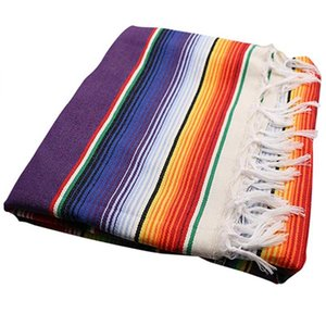 Table Cloth Mexican Tablecloth For Party Wedding Decorations, Saltillo Serape Blanket Bed Outdoor Cover