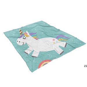 Sublimation Baby Blanket 76*102cm Sublimation Blanks Blanket Soft Warm Blankets Thermal Transfer Rugs HWE10073