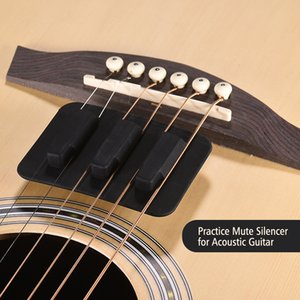 AcousticGuitar Strings Mute Pad Soft Rubber Material Practice