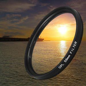 Flashes CPL Filter Circular Polarizer Polarizing Multi Coated For DSLR Camera Lens 25 37 46 58 62 77 82 86 95 105mm