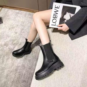 2021 designer's latest customized logo women's boots leather non slip rubber sole luxury comfort exquisite technology high quality 34-42