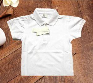 Поло 2021 летний дизайнер крокодил дети мальчик футболка девушка рубашки одежды печатают блузку детей младенческая футболка мальчики хлопчатобумажная одежда