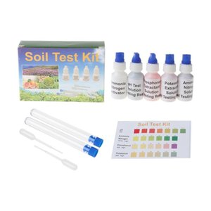 Meters Soil PH Test Solution Phosphorus N1 Nitrate P1 K1 K2 Extractant Kit Dropship