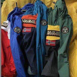Napa Sommer Farbblock Jacke 20 ss Freizeit Campus Hohe Qualität Marke Mantel Designer Männer S Kleidung Mode Luxus bedruckte Mäntel