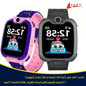 Game for Kids Student Girls Play Puzzle Smart Games Baby Music Dual Camera Clock Watch Voice Call Phone Wrist es 21ss