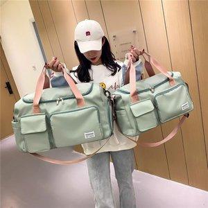 Duffel Bags Travel Bag Hand Luggage Duffle Waterproof Sports Fitness Yoga Gym Large Capacity Weekend For Women Bolsas