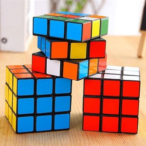 DHL Ship, Intelligence toys Cyclone Boys Mini Finger 3x3 Speed Cube Stickerless Finger Magic Cube 3x3x3 Puzzles Toys wholesale FY2488