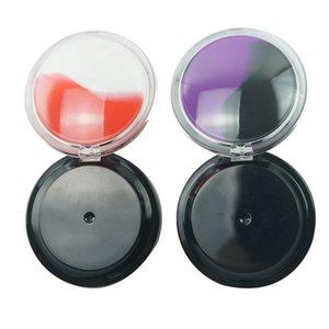 Kaliteli Çok Renkler Içinde FDA Silikon Astar 6 ml Dış Akrilik Kavanozlar DAB Balmumu Konteyner Kapak Yağı Butan Kavanoz Dab Vape 481 R2