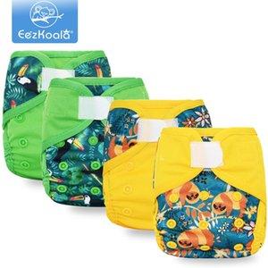 EEZKOALA Umweltfreundlich Born Tuch Windel Cover Baby Windeln Wasserdichte Windeln Wiederverwendbare waschbare verstellbare Tasche