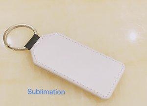 Leadsub hard plastic pendants Key Chain Holder Ring Carving Blank Name Custom sublimation print Keychain