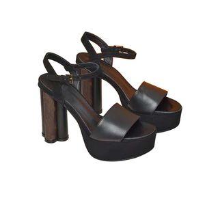 2021 Designer Designer Ladies Platform Platform Genuine Pelle Sandali Summer Flats Stivaletti sexy Stivaletti Alti Stivaletti Gladiatore Sandalo Scarpe casual Tacchi Tacchi 35-41
