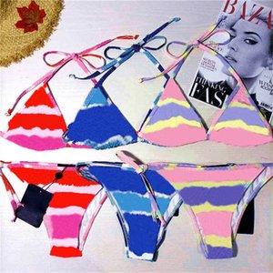 Cartas de vintage Bikinis Bikinis Traje de baño Sexy Split Split High Bañado Traje de baño Último verano Piscina Spa Buceo Bañador Bañador