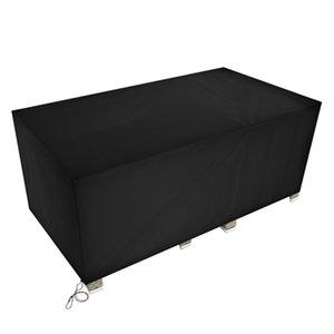 170 * 94 * 70 cm Poco di stoffa Oxford Coperchio Nero Mobili Nero Proteggi Tavolo da esterno da polvere Rain e Sun Home Tessili