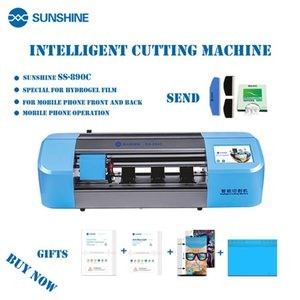 SS-890C Sunshine Auto Flexible Hydrogel Film Cutting Machine Mobile Phone Tablet Front Glass Back Cover Protect Cut Tool Power Sets